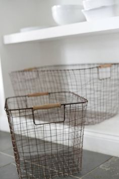Set Of Two Fluffy Antler Storage Baskets by The Forest & Co, the perfect gift for Explore more unique gifts in our curated marketplace.