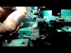 Overlock - Ajuste da agulha e do Looper Superior - YouTube
