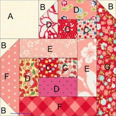I am so excited to share this block and quilt pattern with you.  I have wanted to have a Valentine's Quilt since I first saw the various po...