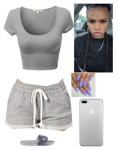 """""""'Chillin On A Friday"""" by amournyaa ❤ liked on Polyvore featuring Puma"""