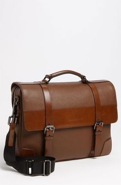 a986e805a8be ... LEATHER MENS BRIEFCASE BUSINESS HANDBAG LAPTOP BAG FOR LAYWER