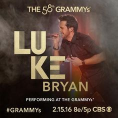 Luke Bryan, Demi Lovato, John Legend and Meghan Trainor to perform a tribute to 2016 MusiCares Person Of The Year Lionel Richie at the 58th GRAMMYs Feb. 15 on CBS!
