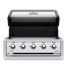 Broil King Regal Built-In Propane Gas Grill - Stainless Steel - 886714 Cal Flame, Propane Gas Grill, Stainless Steel Grill, Grilling, Cooking, Kitchen, Crickets, Brewing, Cuisine