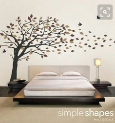 7 Wonderful Tips: Natural Home Decor Rustic Rugs natural home decor diy coffee tables.Natural Home Decor Bedroom Floors natural home decor earth tones.Natural Home Decor Bedroom Floors. Tree Wall Art, Vinyl Wall Art, Wall Decals, Wall Sticker, Nursery Decals, Tree Art, Home Decor Bedroom, Bedroom Wall, Deco Stickers