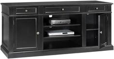 Martha Stewart Living™ Larsson TV Stand - Tv Stands - Home Theater Furniture - Furniture | HomeDecorators.com