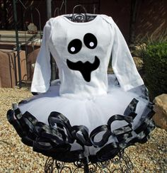 Ghost Tutu Costume by preciousbabygifts on Etsy, $50.00
