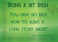 Being a Bit Irish ♣