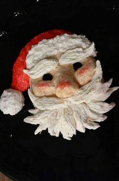 Santa cheeseball
