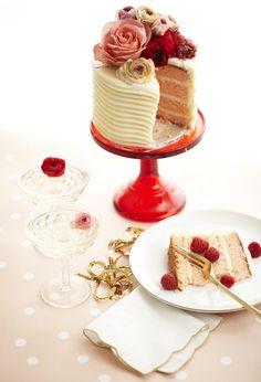 valentines day flower cake inspiration