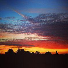 Sunset in Alresford #makesmehappy @White Stuff UK