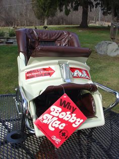 Bobby Mac 2 in 1 car seat, like new with tags and box, 1978