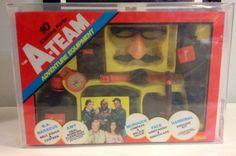 Vintage Galoob The A-Team Adventure Equipment Toy Set AFA 80!! VHTF!!  #Galoob