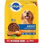 PEDIGREE Adult Complete Nutrition Roasted Chicken, Rice & Vegetable Flavor Dry Dog Food is formulated to give dogs all of the energy and nourishment they need to continue living life to the fullest. Best Dry Dog Food, Make Dog Food, Wet Dog Food, Dry Cat Food, Homemade Dog Food, Pet Food, Roast Chicken And Rice, Roasted Chicken, Chicken Rice