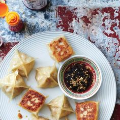 """""""Spring Roll"""" Pot Stickers 