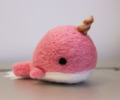 Cute Needle felting wool cute animals whale pets (Via @celiaa.t)