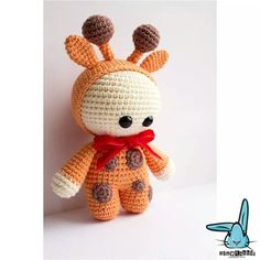 Giraffe doll #Amigurumi Crochet
