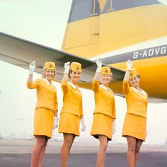Monarch Airlines - Stewardesses 1968