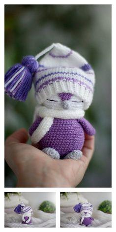 - Amigurumi Small Cute Penguin Free Pattern – Free Amigurumi Patterns Crochet Penguin, Crochet Animal Amigurumi, Crochet Animal Patterns, Stuffed Animal Patterns, Baby Knitting Patterns, Amigurumi Patterns, Crochet Toys, Crochet Mignon, Little Cotton Rabbits