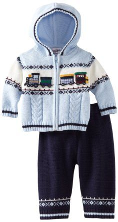 Baby boy clothes#Kitestrings Baby-boys Newborn Hooded Sweater and Pant 2 Piece Set