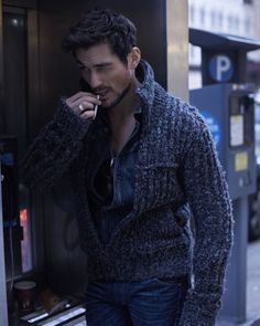 David Gandy omnipresent for style