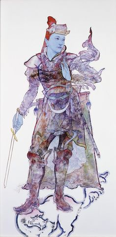 四天王立像「持国天」 2006 © YAMAGUCHI Akira Courtesy Mizuma Art Gallery