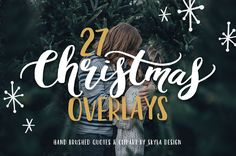 Christmas overlays, quotes & clipart by skyladesign on @creativemarket