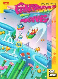 Fantasy Zone by Sega for MSX2.