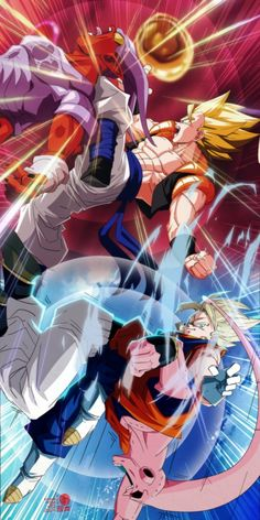 Gogeta vs Janemba & Vegetto vs Majin Buu - Dragon Ball Z Dragon Ball Z, Dragon Ball Image, Dragon Z, Black Dragon, Gogeta Vs Janemba, Vegito Vs Zamasu, Dragonball Art, Anime Fight, Girls Anime
