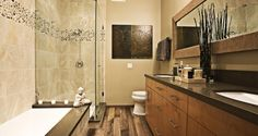 Luxurious Wood Floor Bathroom Ideas and wood floor wall color ideas