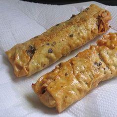 Papad Roll Recipe | How to make Papad Roll - Vegetarian