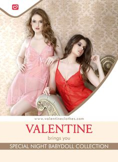 Nights are not meant to be boring! Dress to Impress with Stylish BabyDoll Collection from Valentine. Shop now at https://valentineclothes.com/women/babydoll.html  #babydoll #bridalwear #sexy #love #intimatewear #fashion #valentine #valentineclothes #madewithlove #happyshopping