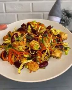 Easy Cooking, Cooking Recipes, Vegetarian Recipes, Healthy Recipes, Health Dinner, Appetizer Salads, No Cook Meals, Food Hacks, Food Videos