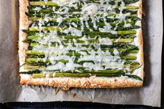 This is from Canadian Livings Best Recipes Ever show.  It is a great appetizer when you are looking for something a little different.  I used the prerolled puff pastry for this, just unroll, and use the parchment to line your baking pan.  It can be served warm or chilled.