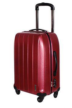 Trolley rigide 65cm Elite, à 4 roues rouge rouge bordeaux