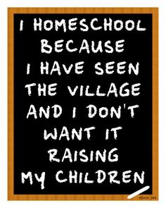 Home Schooling life