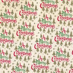 Vintage Mid-Century Christmas Paper - I used to have some of this! Miniature Christmas, Christmas Minis, Christmas Paper, Christmas Patterns, Vintage Christmas Wrapping Paper, Christmas Gift Wrapping, Christmas Cards To Make, Christmas Background, Beautiful Christmas