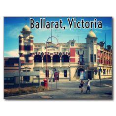Greetings from Ballarat Victoria Postcard