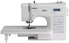 Brother Project Runway CE7070PRW 70-Stitch Computerized Sewing Machine with Wide Table by Brother