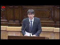 Puigdemont da explicaciones de por qué destituyó al Conseller que dudó d...