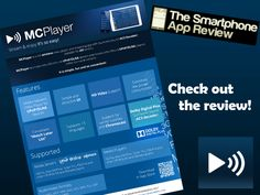 MCPlayer - #gift that keen on giving, a #wireless video player and #streamer for #iOS platform, much more details via The Smartphone App Review and videos within local network or the Internet. (scheduled via http://www.tailwindapp.com?utm_source=pinterest&utm_medium=twpin&utm_content=post32381590&utm_campaign=scheduler_attribution)
