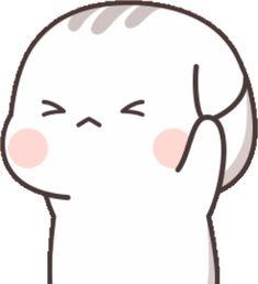Cute Anime Cat, Cute Bunny Cartoon, Cute Cartoon Pictures, Cute Love Pictures, Cute Cartoon Drawings, Cute Cat Gif, Cute Images, Kawaii Anime Girl, Bear Gif