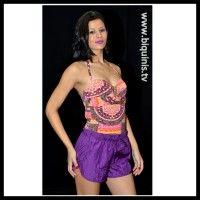 Shorts Lady Purple Ref.12108 Tamanho P.