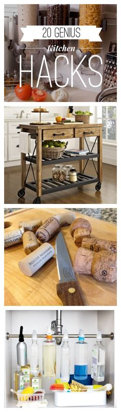 20 Time-Saving Kitchen Hacks   Kitchen life just got a hell of a lot easier!