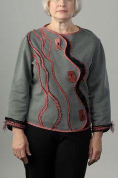 Large Creative Sweatshirt Jacket Images :: Londas-Sewing