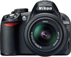 Nikon D3100 Cheat Cards