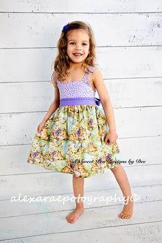 Easter dress girls dress toddler dress by SweetpeadesignsbyDee