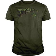 Superman Camo Logo and Shield T Shirts, Hoodies, Sweatshirts. CHECK PRICE ==► https://www.sunfrog.com/Geek-Tech/Superman-Camo-Logo-amp-Shield-.html?41382