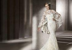 Pronovias präsentiert Ihnen das Modell Erika, Manuel Mota 2013. | Pronovias