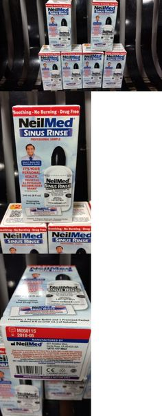 Neti Pots and Cleansers: Neilmed Sinus Rinse 8 Oz Squeeze Bottle Lot X6 BUY IT NOW ONLY: $50.0