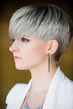 8.Pixie Haircut for Gray Hairs